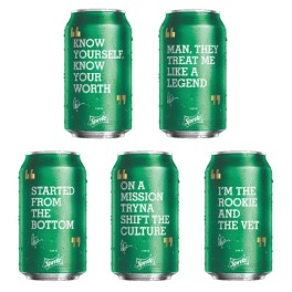 drake sprite cans