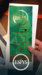 ESPYS after party ticket