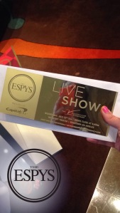 espys live show ticket
