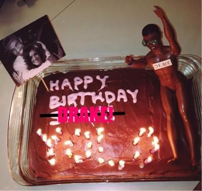 Drake Bday Cake