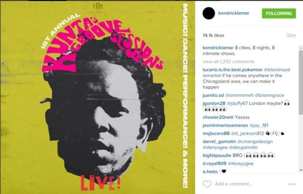 Kendrick insta 10-5-15