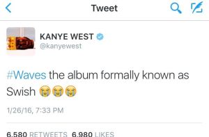KanyeTweeted