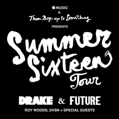 Summer Sixteen Tour poster