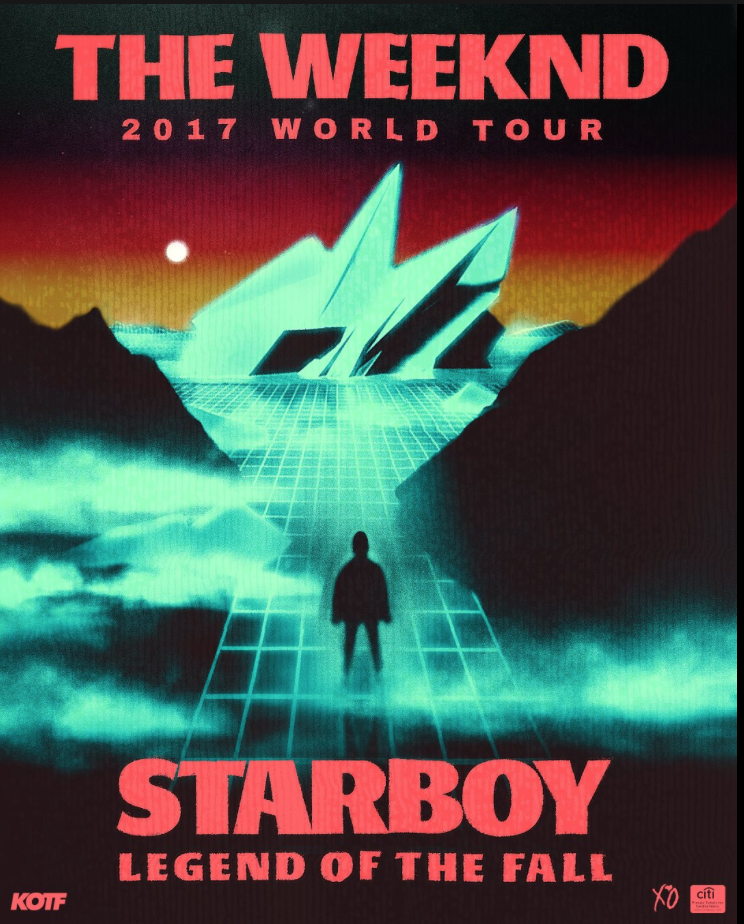 Starboy The Weeknd Legend Of The Fall Tour
